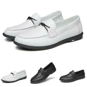 Mens Driving Moccasins Shoes Pumps Slip on Loafers Flats Soft Comfy Breathable L