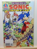 Sonic the Hedgehog Free Comic Book Day Sega Archie Comics Variant CB7588