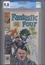 Fantastic Four #292 CGC 9.0 1986 Marvel Comics John Byrne Story, Cover & Art