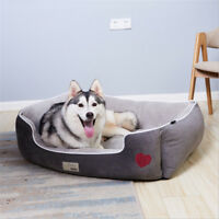 Self-Warming Cat and Dog Bed Cushion for Medium large Dogs Short plush(D67)