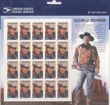USPS Sheet 20 Stamps Actor John Wayne Legends of Hollywood Pane MNH 1996 3876