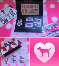 **SALE** NEW! Victoria's Secret Pink Hair Ties/Tattoos & Stickers