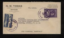 Dominican  Republic  nice airmail cover to  US   1936      MS0424