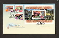 1997 FDC1686a FLORA & FAUNA 20c, 25c, $1, $10 First Day Cover