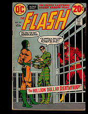 Flash #219 (DC) 1st Print with Mirror Master & Top by Dennis O'Neil & Neal Adams
