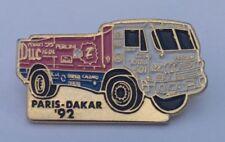 Parigi Dakar'92 RACING TRUCK pin badge #2