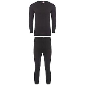 Kids Thermal Long Sleeve Top & Pants Set, Boys Girls Warm Winter Underwear