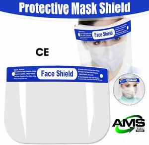 Full Face Visor Mask Shield Protection Reusable Splash Guard Safety UK STOCKED