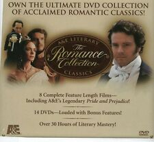 A&E Literary Classics Romance Collection BBC British Television 8 Titles 14 DVD