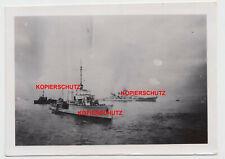 Foto Kriegsmarine Schiff Schlachtschiff Schwerer Kreuzer La Pallice Frankreich ?