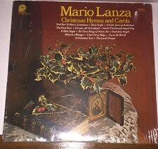 """Mario Lanza Vinyl """"Christmas Hymns and Carols"""" 1977 ***NEW & SEALED***"""