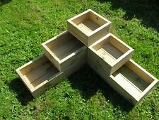 3 Tier Raised Bed Garden Trough Planter Veg  Flower Plant Pots In Decking