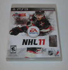 NHL 11 (Sony Playstation 3, 2010) PS3 Complete CIB Game Good Shape