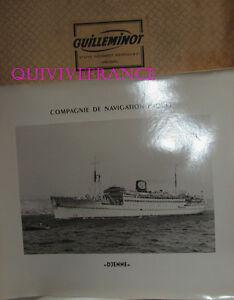 Gran Foto Cnp Compañía Navegación Paquete - Djenné Transbordador 1948-1966