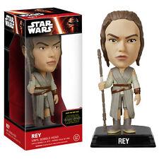 STAR Wars: la forza si sveglia Rey Bobble Head-Nuovo In Magazzino