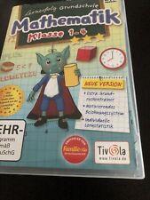 Lernerfolg Grundschule Mathematik 1-4 Klasse Software Zustand sehr  gut portofre