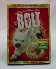 BOLT DVD DELUXE EDITION 2009 2-Disc Set with Digital Copy