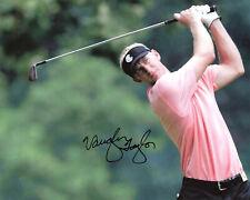 VAUGHN TAYLOR Signed 8x10 Photo PGA Golf Autographed Photograph