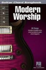 Modern Worship - Guitar Chord Songbook (6 X9 ), Hal Leonard Corp., New Books