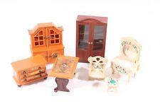 SUBLIME ANCIEN JEU meubles maison de poupée enfants vieux vintage