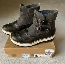 UGG Marrais Winter Boots | 7 | Charcoal Gray Womens Waterproof All-Weather Shoes