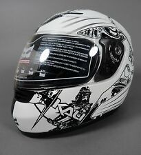 NEW Kali Nira Motorcycle Helmet Street Bike Shield X-Small Yin Yang List @$199