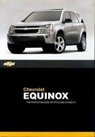 Chevrolet Equinox Prospekt 2007 brochure Autoprospekt Broschüre Heft brosjyre