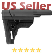 UTG PRO RBUS4BMS Made in USA Ops Ready S4 Mil-spec Rifle Butt Stock Black