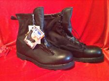 "Matterhorn  8"" Waterproof Combat Boots NoN-Metallic Safety Toe Size 12 W"