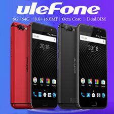"Ulefone T1 5.5"" 6GB 64GB Octa core 4G Smartphone Dual Rear Cam/SIM Card Touch ID"