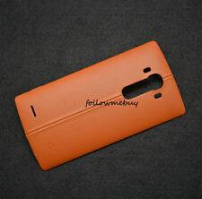Real Leather Back Cover Battery Cover For LG G4 H810 H811 H818P VS986 H812 Brown