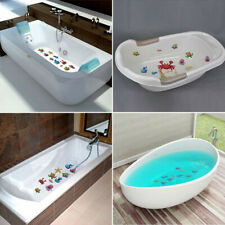 Non Slip Decal Sticker Strips Bathtub 10 Set Shower Bath Tub Bathroom Home Kids