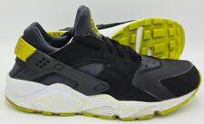 Nike Air Huarache Zapatillas 318429-030 Negro/Venom Verde/Blanco UK9/US10/EU44