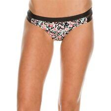 Volcom X-Large Black Floral Desert Bloom Bikini Swimsuit Bottoms XL NWT