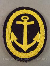 60707 Kriegsmarine: Abzeichen zum Sportanzug für Offiziere , gelber Anker
