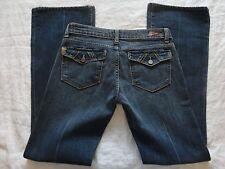 PAIGE Premium Denim Women's Size 28 Pair-fak Dark Wash Low Rise Boot Cut Jeans