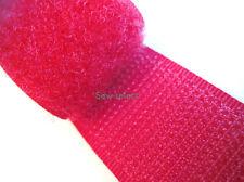 25MT rouge fermeture scratch 25mm toucher & fermer ripfast™ cousue rubans