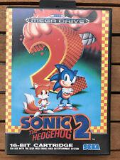 Sonic The Hedgehog 2 · Sega Mega Drive · OVP + Anleitung