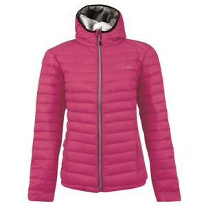 Womens Dare2b Drawdown Premium Down Jacket Pink Fusion