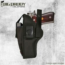 "BROWNING BDA 9MM 4.6"" BARREL - FULLY LINED EXTRA MAG HOLSTER - *MADE IN USA*"