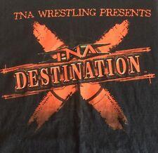 Tna Wrestling Destination X Large Vintage Pay Per View T Shirt 2008 Wwe Wwf Ecw