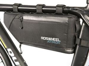 Frame Bag Roswheel/Sahoo Attack Black/Blue Bike Packing Waterproof 121371