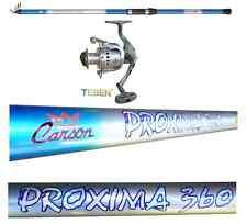 kit canna proxima 4m 30/60g + mulinello 6000 pesca fondo mare lago fiume porto