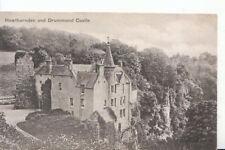 Scotland Postcard - Hawthornden and Drummond Castle - Midlothian - Ref ZZ5822