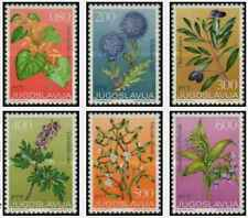Timbres Flore Yougoslavie 1396/1401 ** lot 25668