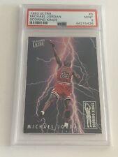 Michael Jordan 1993-94 Ultra Scoring Kings #5 PSA 9 Mint RARE