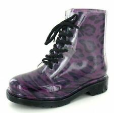 Rubber Casual Ankle Boots for Women