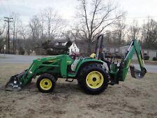 Very Nice John Deere 4600 4X4 Loader Backhoe Tractor