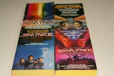 Star Trek Books-Motion Picture, Wrath of Khan, Search for Spock, Final Frontier