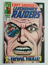 Captain Savage and his Leatherneck Raiders (1967) #4 - Fine